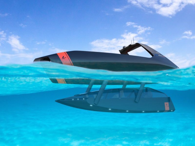 Swordfish underwater mode